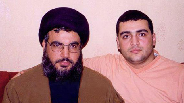 Hezbollah leader Hassan Nasrallah and son Jawad. Apple doesn't fall far from the tree.