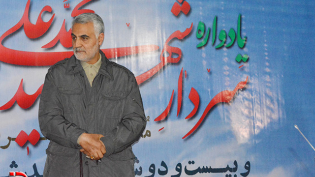 Qassem Suleimani, commander of the Quds Force