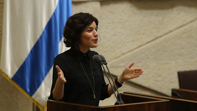 Knesset Member Tamar Zandberg (Photo: Amit Shabi) (Photo: Amit Shabi)