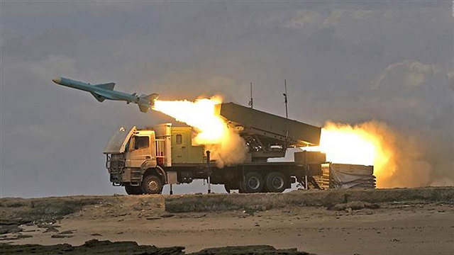Iranian missile launch (file photo)