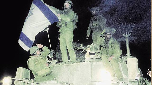 IDF soldiers on the eve of the withdrawal (Photo: Yaakov Ben Alfi/GPO)