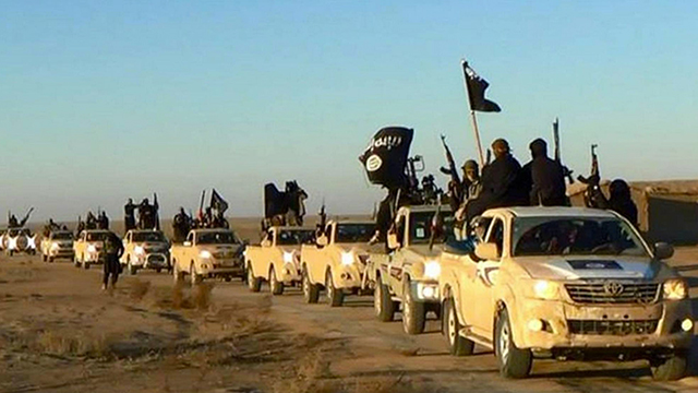 Islamic State fighters in Syria in 2014  (Photo: AP)