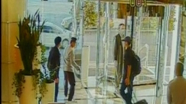 Al-Mabhouh's assassination in Dubai (צילום: רויטרס)