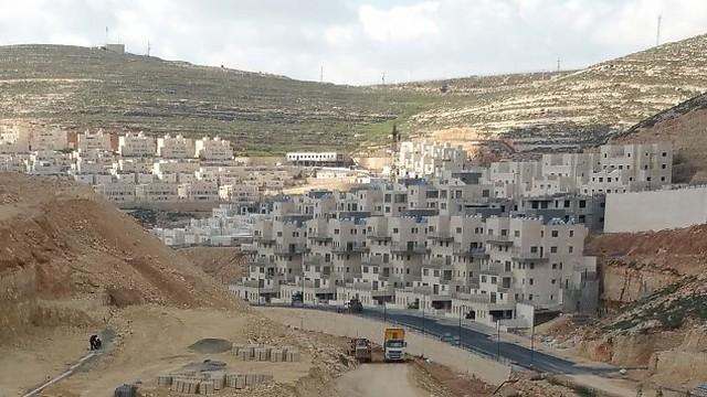 Construction in Givat Ze'ev (Photo: Nofe Yisrael) (Photo: Nofe Yisrael)