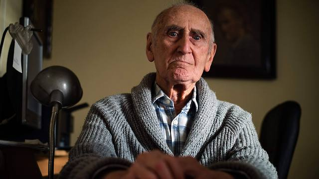 Aleksandar Lebl, 93, is one of the very few of Serbia's Holocaust survivors who came back to recover their homes (Photo: AFP)