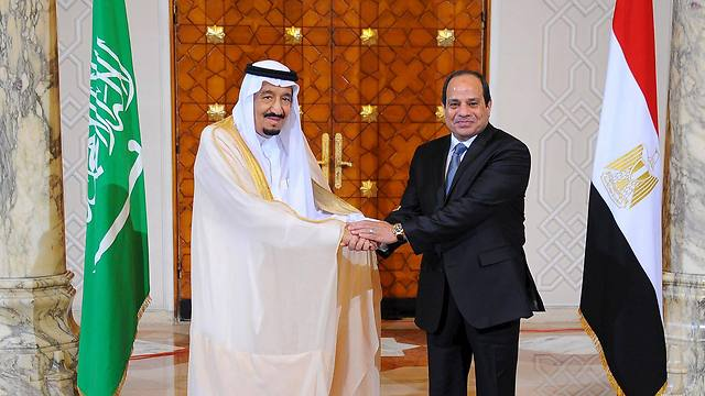 Egyptian President el-Sisi and King Salman of Saudi Arabia (Photo: Reuters) (Photo: Reuters)
