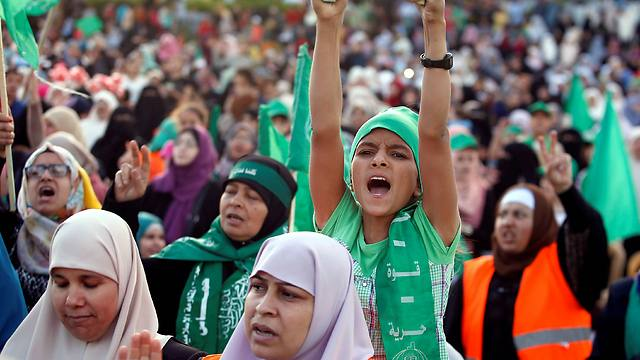 Supporters at rally (Photo: Reuters) (Photo: Reuters)