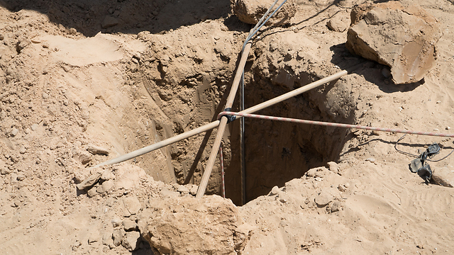 Hamas tunnel discovered by the IDF in Gaza Strip (Photo: IDF spokesperson) (Photo: IDF Spokesperson)