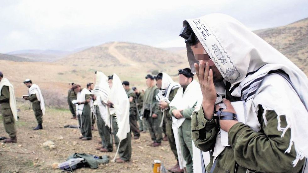 Haredi soldiers. 'Radical rabbis are inciting soldiers against the military spirit' (Illustration photo: Elad Gershgorn)