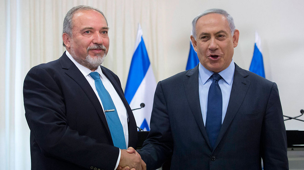 Lieberman and Netanyahu (Photo: EPA) (Photo: EPA)