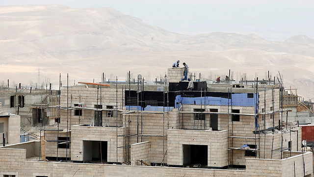 Construction in Ma'ale Adumim. (Photo: Reuters) (Photo: Reuters)
