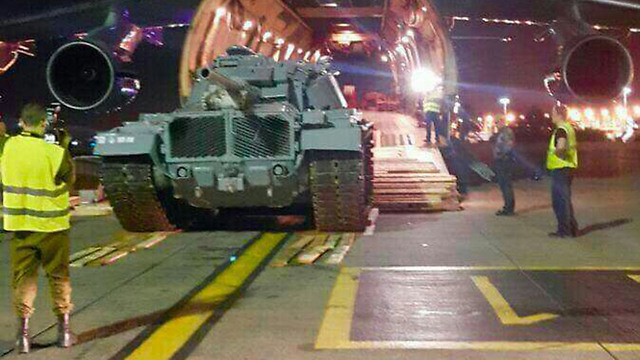 The tank is returned from Russia to Israel