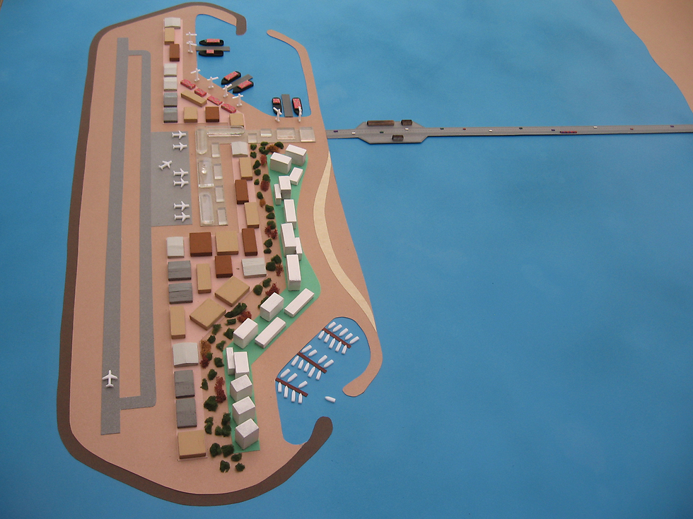 Katz's plan for a manmade island off the shore of Gaza