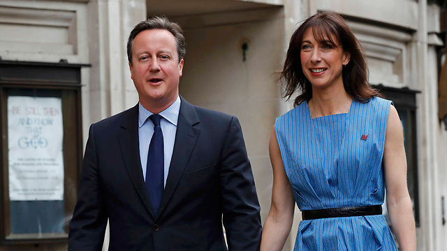 Prime Minister David Cameron and his wife Samantha Cameron (Photo: Reuters)