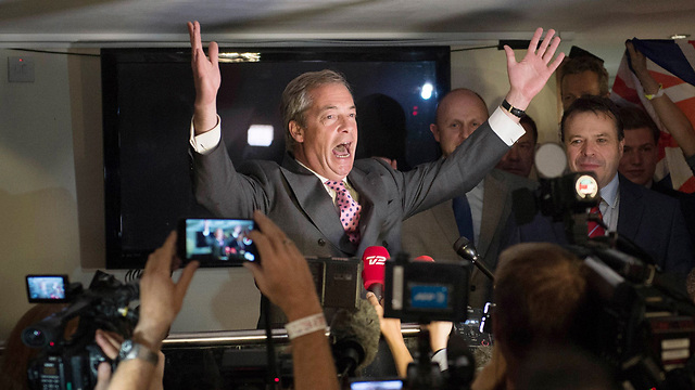 Independence Party leader Nigel Farage (Photo: AP)
