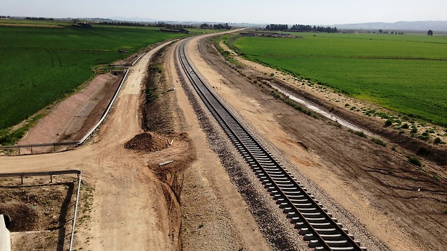 View from the Jezreel Valley Railroad (Photo: Netivei Israel)