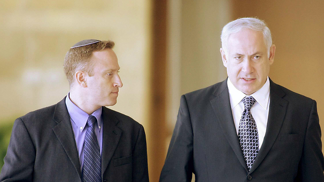 Ari Harow with Prime Minister Netanyahu (Photo: Alex Kolomoisky) (Photo: Alex Kolomoisky)