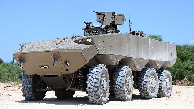 The new Eitan APC. (Photo: Ministry of Defense)