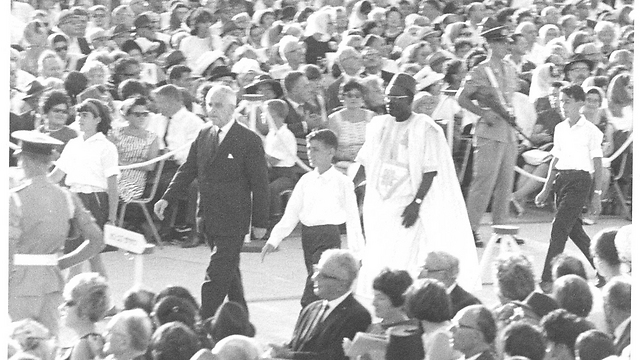 The Knesset building's inauguration in 1966 (Photo: Knesset Archive)