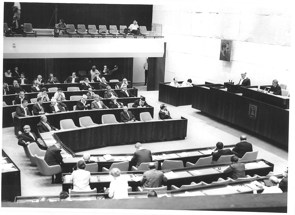 Photo: Knesset Archive