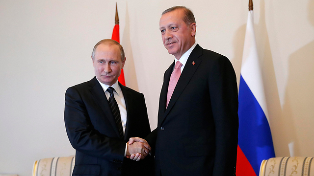 Russian President Putin and Turkish President Erdogan (Photo: EPA) (Photo: EPA)