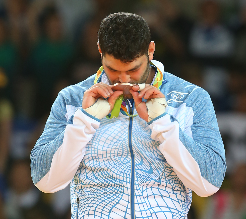 Rio medalist Ori Sasson will not be permitted to compete under the Israeli flag in the Abu Dhabi Grand Slam (Photo: Oren Aharoni)