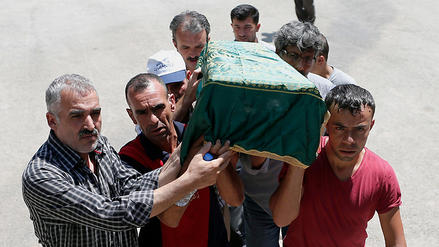Funeral of one of the victims (Photo: EPA) (Photo: EPA)