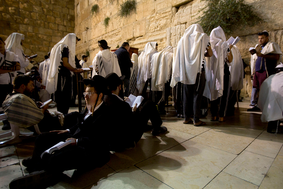 Ultra-Orthodox praying at the Western Wall in Jerusalem (Photo: Gettyimages)