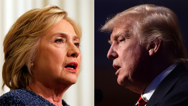 Trump and Clinton (Photo: AFP, MCT) (Photo: AFP, MCT)