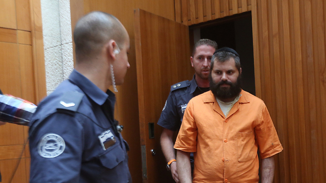 Convicted murderer Yosef Haim Ben-David (Photo: Gil Yohanan)