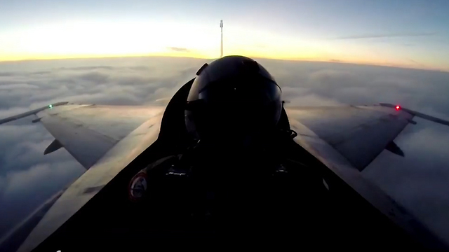 Egyptian Air Force pilot on preparing to bomb ISIS targets in Sinai