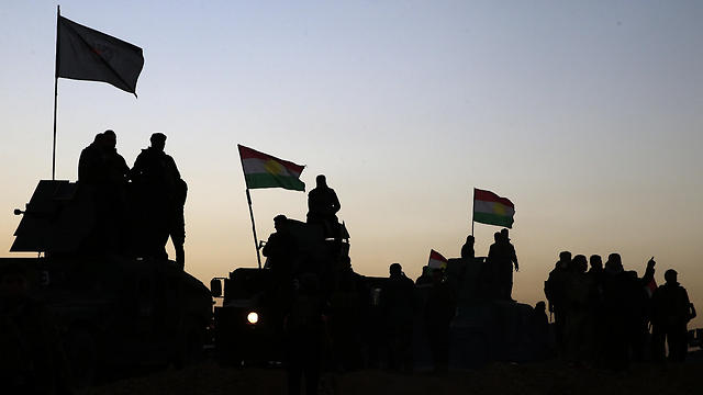 Kurdish militias in Iraq. The Kurds are the only force to engage the Islamic State in ground offensives (Photo: AP)