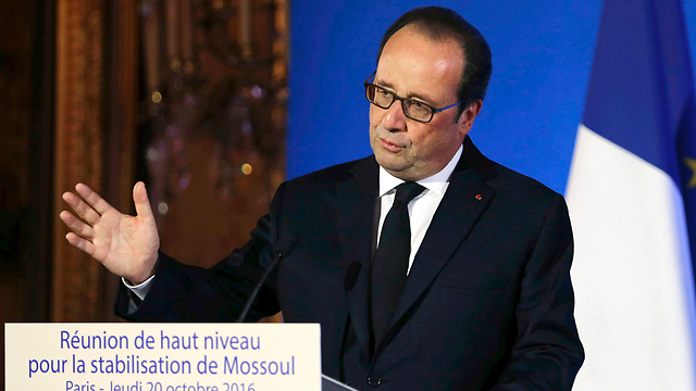 French President Francois Hollande (Photo: AFP)