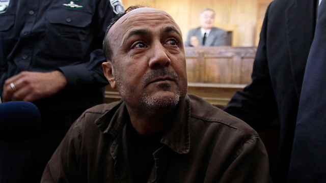 Marwan Barghouti in court (Photo: Reuters) (Photo: Reuters)