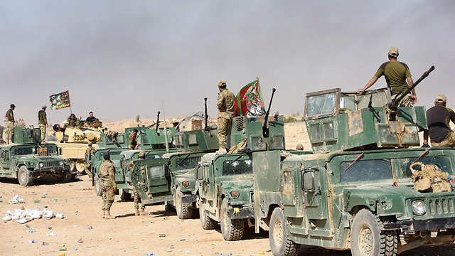 Iraqi forces approaching Mosul (Photo: AFP)