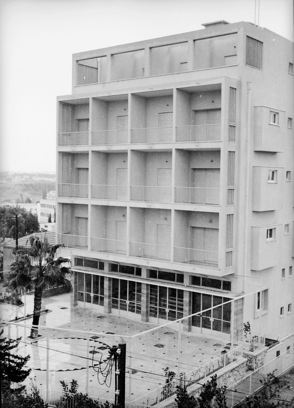 The Soviet embassy in Ramat Gan (Photo: David Rubinger)