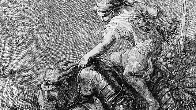 Some researchers accept every line in the Bible, and others see it as a mythological collection and therefore saw David as a sort of 'King Arthur' (Photo: Getty Images)