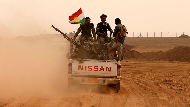 The Americans' cannon fodder is the Kurdish Peshmerga forces and the Iraqi army units. Israel doesn't have Kurds and Iraqis to send to Gaza (Photo: Reuters)