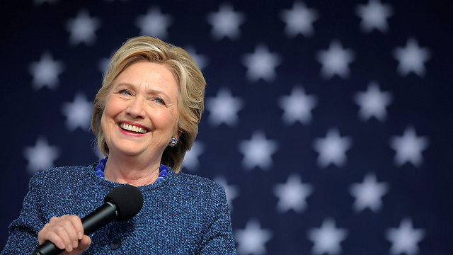 Clinton speaking at an election rally in Iowa (Photo: Reuters)