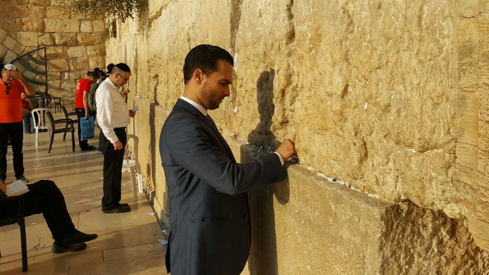 Trump sent a note to the Western Wall.