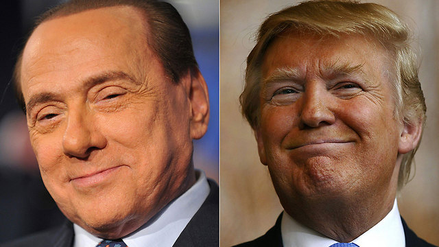 Berlusconi and Trump: Birds of a feather flock together (Photo: AFP)