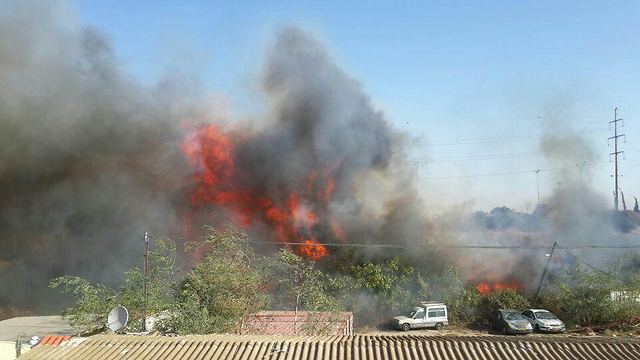 Fires in Haifa (Photo: Firefighting and Rescue Commission) (Photo: Firefighting and Rescue Commission)