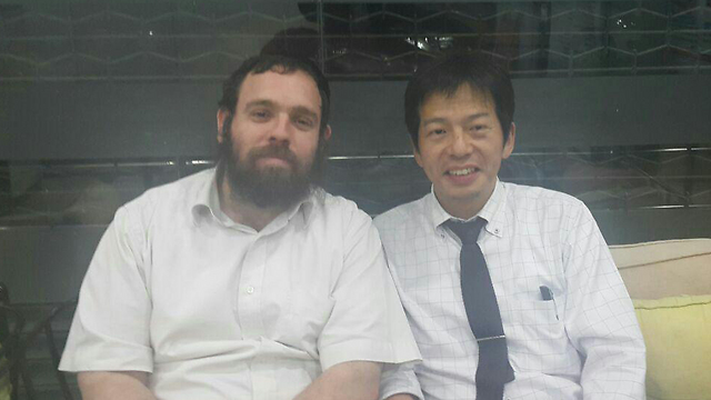Rabbi Lipshits and the Japanese Consulate General
