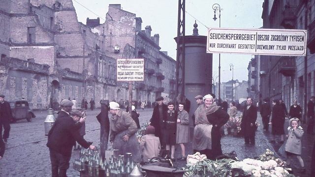 Warsaw Ghetto under WWII-era Nazi rule (Photo: Getty Images)