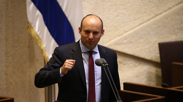 Naftali Bennett: 'This is  a proud day' (Photo: Ohad Zwigenberg)