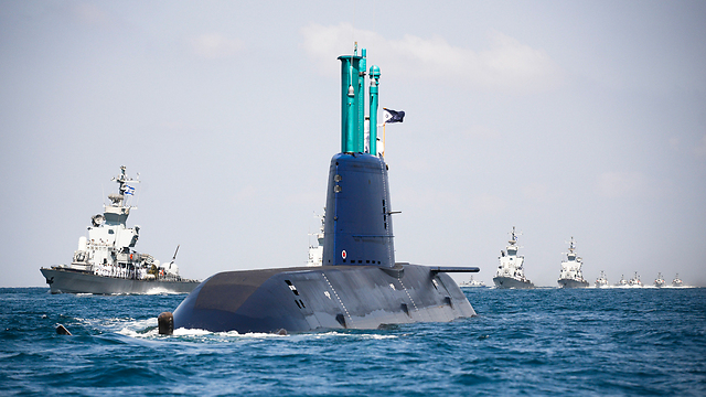 Israeli submarine (Photo: IDF Spokesperson's Unit) (Photo: IDF Spokesperson's Unit)