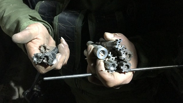 M16 components (Photo: IDF Spokesperson's Unit) (Photo: IDF Spokesperson's Unit)