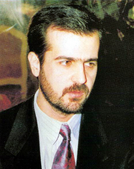 Bassel Assad, the heir apparent who was killed in a car accident