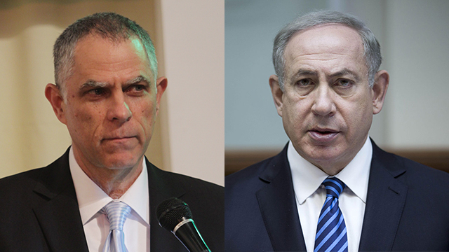 Mozes (L) and Netanyahu (Photos: Alex Kolomoisky, AFP) (צילום: אלכס קולומויסקי, AFP)