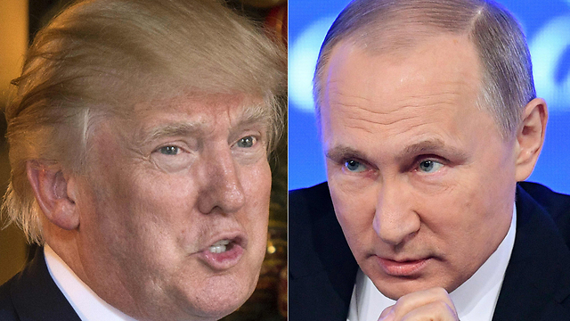 Trump (L) and Putin. American officials believe the Russian president has 'leverages of pressure' over the US president-elect (Photo: AFP)